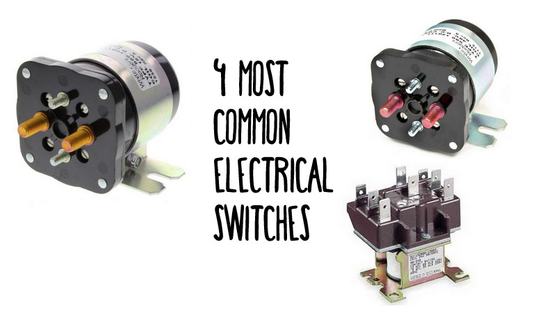 Your Guide To The 4 Most Common Electrical Switches |