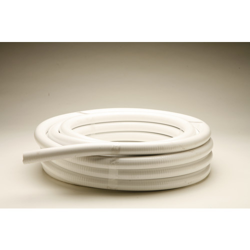"Red Flag 1/2"" White Ultra Flexible PVC Pipe"