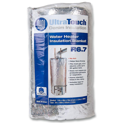 ultratouch water heater blanket
