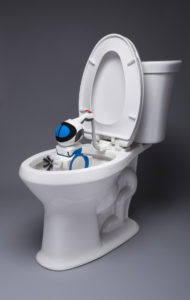 toilet, robot, toilet cleaning, invention, innovation, giddel, altan robotech, revolutionary, 3d technology, robotech, Portable Toilet Cleaning Robot, plug and play, home robot
