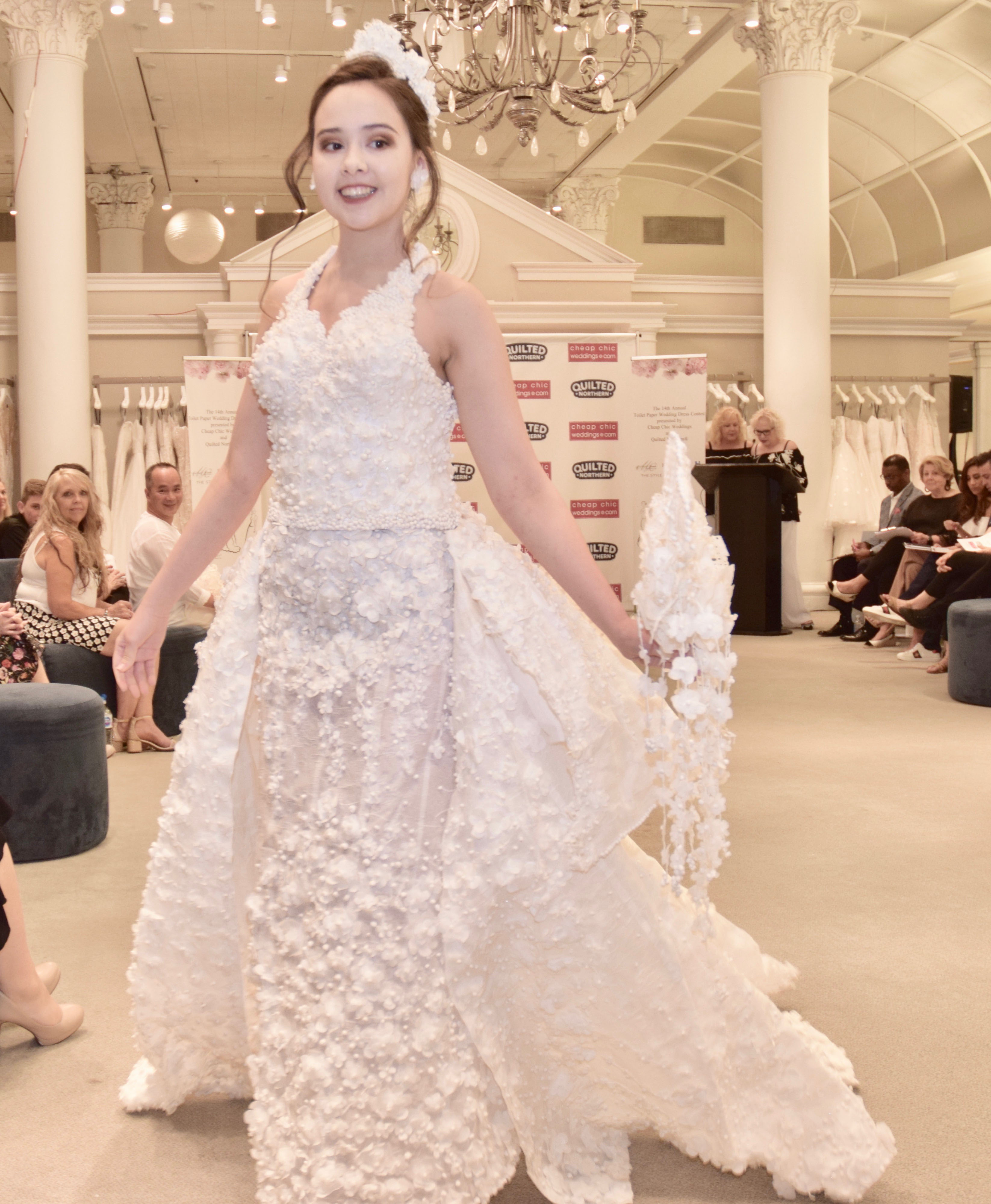 Wedding Dress Create.Making A Wedding Dress Out Of Toilet Paper