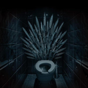 game of thrones, toilet, hbo, GoT, plumbing, kit harington, jon snow, westeror, white walkers, emilia clarke, peter dinklage, plumber, flush, flushing, sophie turner, maisie williams, night king, iron throne, queen elizabeth, zombie, dragon, king in the north, north of the wall, Stark, Targaryen, Daenerys, Lannister, Tyrion, Cersei, Mad King, Valar Morghulis, flush valve, modern plumbing